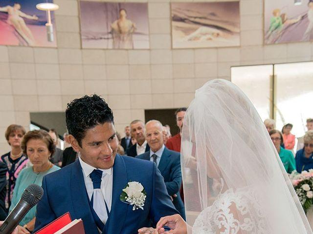 Il matrimonio di Claudio e Martina a Grassobbio, Bergamo 21