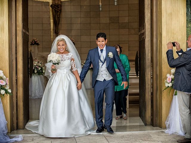 Il matrimonio di Claudio e Martina a Grassobbio, Bergamo 23