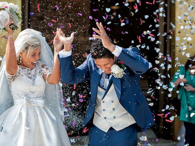 Il matrimonio di Claudio e Martina a Grassobbio, Bergamo 25