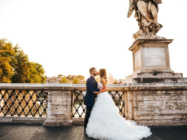 Il matrimonio di Stefano e Anna a Roma, Roma 1