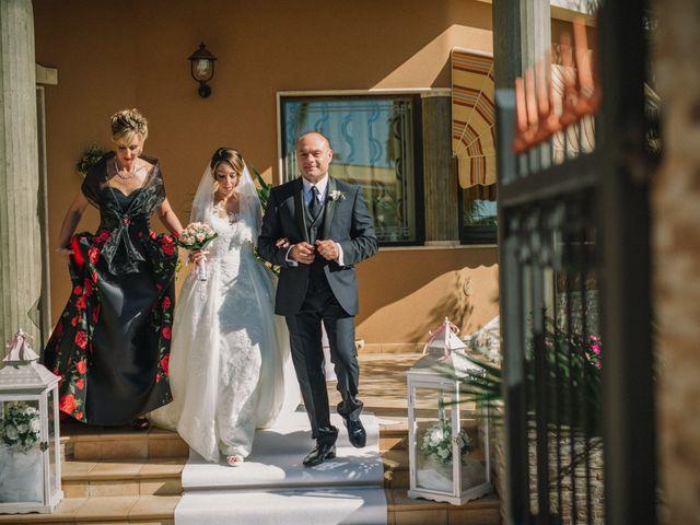 Il matrimonio di Melania e Sergio a Mazara del Vallo, Trapani 12