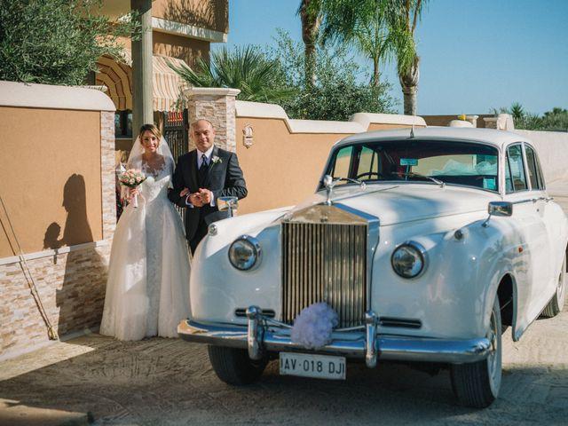 Il matrimonio di Melania e Sergio a Mazara del Vallo, Trapani 13