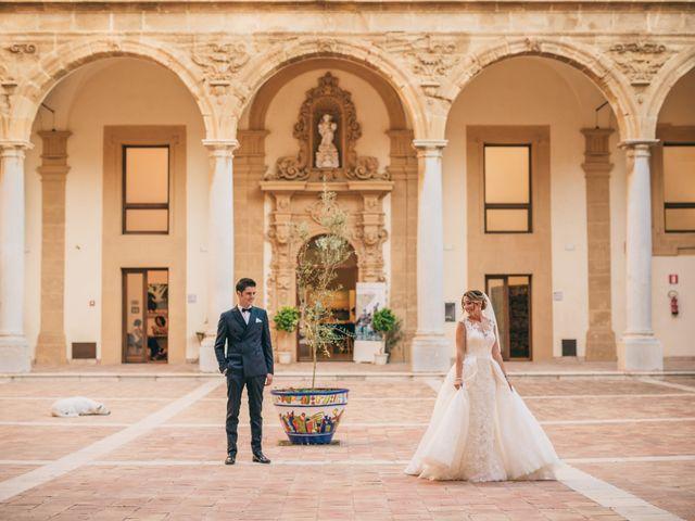 Il matrimonio di Melania e Sergio a Mazara del Vallo, Trapani 25