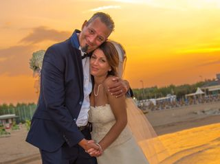 Le nozze di Sharon e Enrico
