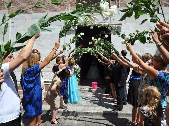 Il matrimonio di Mircea e Angela a Lucca, Lucca 32