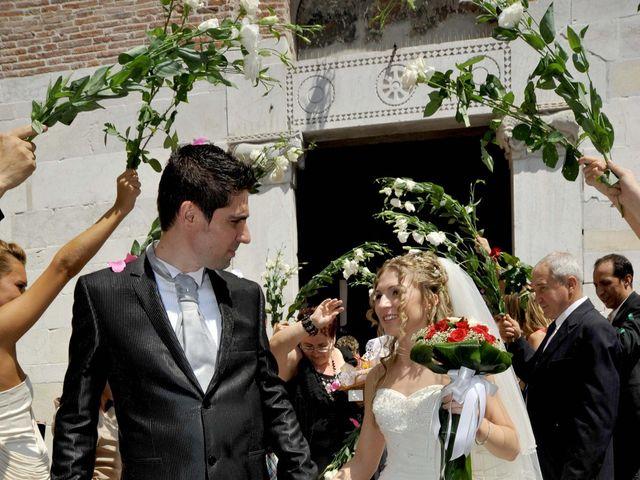 Il matrimonio di Mircea e Angela a Lucca, Lucca 35