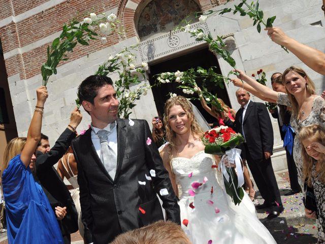 Il matrimonio di Mircea e Angela a Lucca, Lucca 38