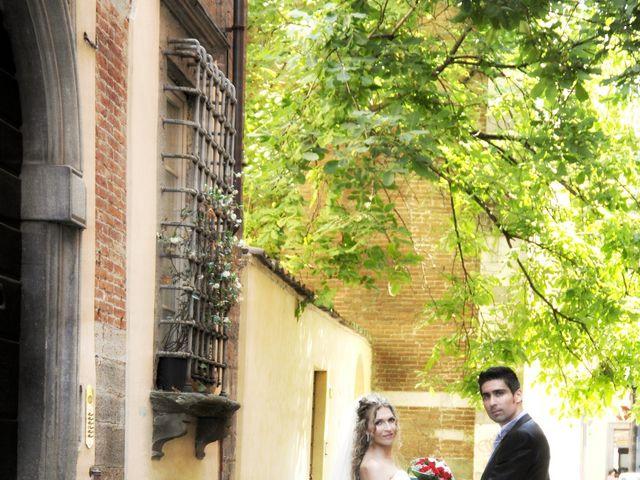 Il matrimonio di Mircea e Angela a Lucca, Lucca 40