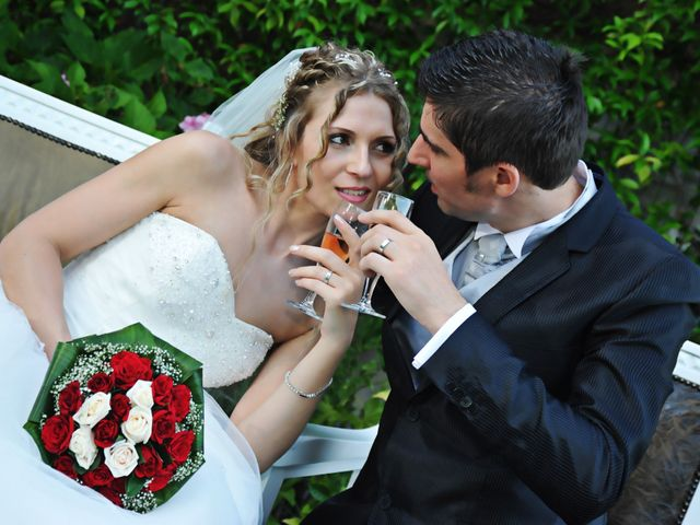 le nozze di Angela e Mircea