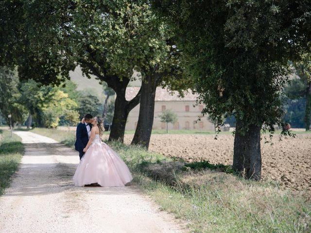 Il matrimonio di Luca e Giulia a Jesi, Ancona 2