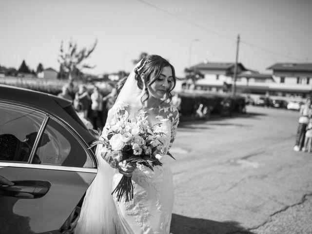 Il matrimonio di Davide e Maria a Vespolate, Novara 27