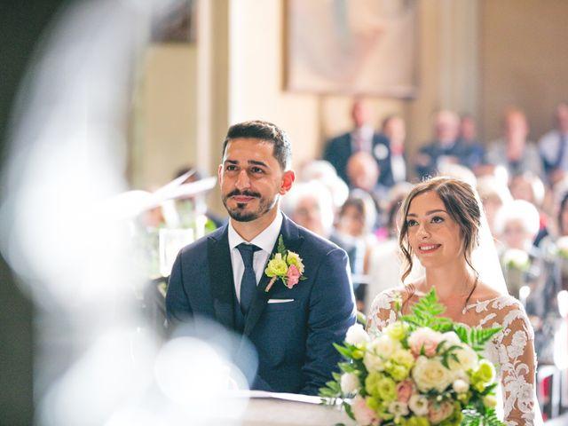 Il matrimonio di Davide e Maria a Vespolate, Novara 34
