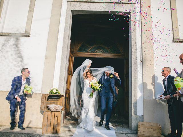 Il matrimonio di Davide e Maria a Vespolate, Novara 45