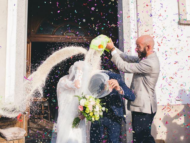 Il matrimonio di Davide e Maria a Vespolate, Novara 47