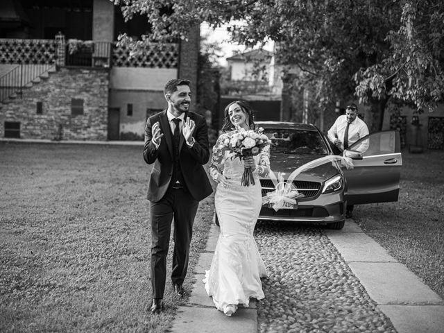 Il matrimonio di Davide e Maria a Vespolate, Novara 57