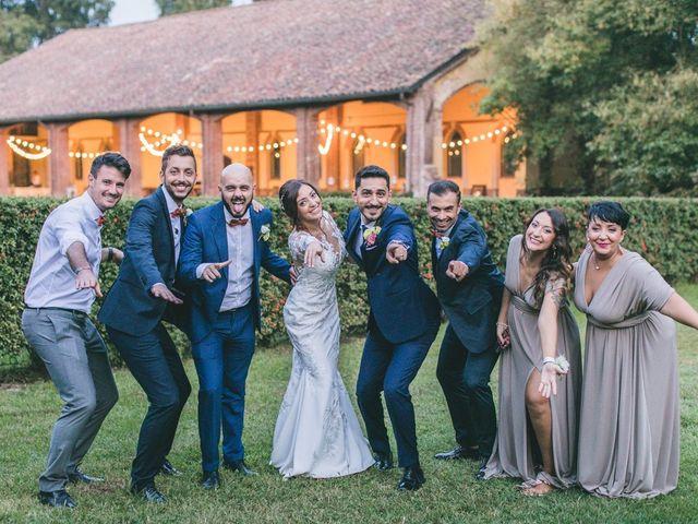 Il matrimonio di Davide e Maria a Vespolate, Novara 80