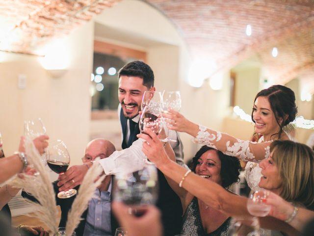 Il matrimonio di Davide e Maria a Vespolate, Novara 100