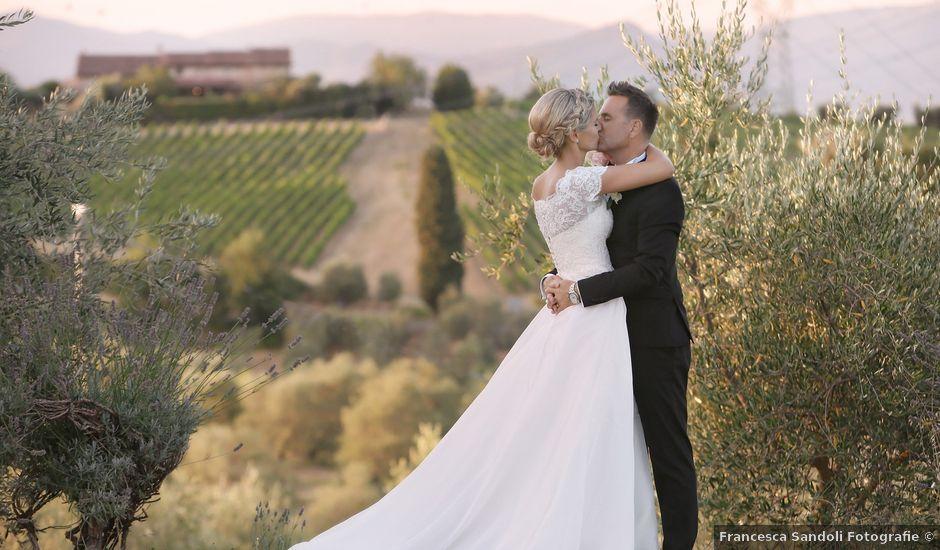 Il matrimonio di Marco e Nathalie a Carmignano, Prato