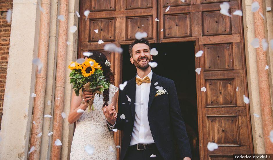 Il matrimonio di Massimo e Francesca a Castell'Arquato, Piacenza