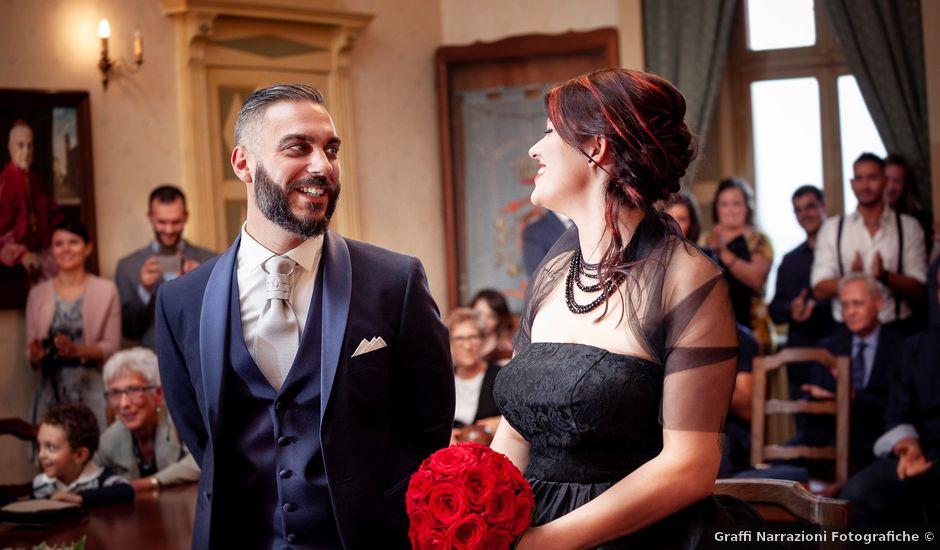 Il matrimonio di Matteo e Serena a Moretta, Cuneo