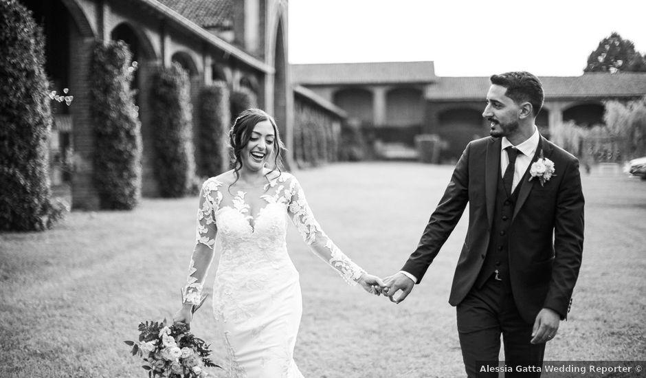 Il matrimonio di Davide e Maria a Vespolate, Novara