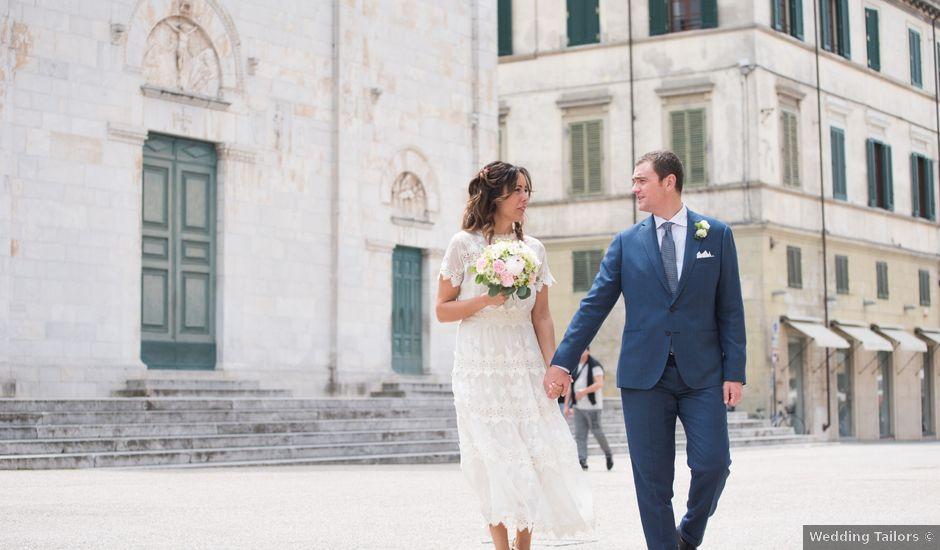 Il matrimonio di Federico e Benedetta a Pietrasanta, Lucca
