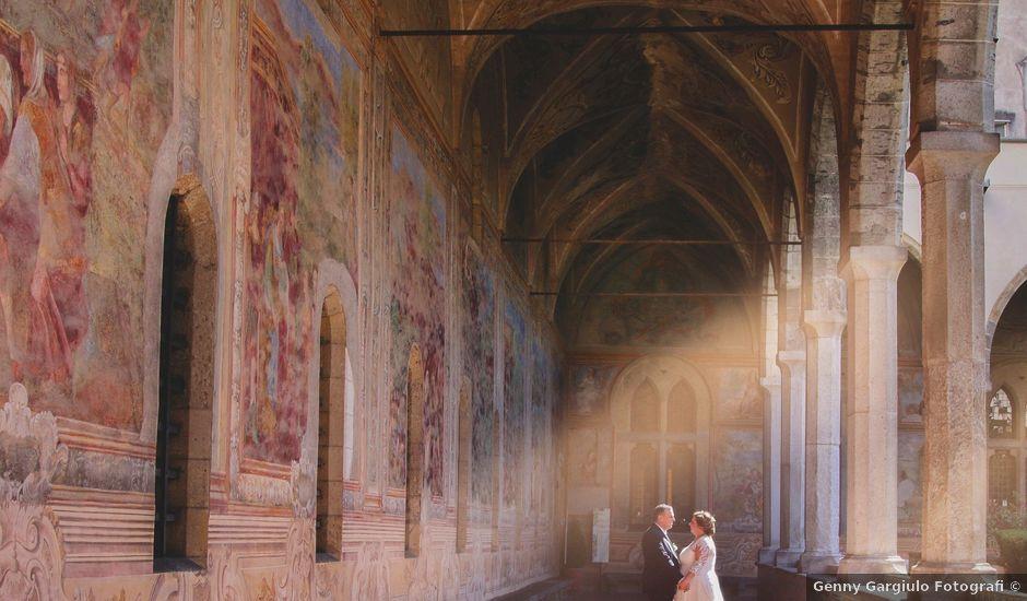 Il matrimonio di anna e tiziano a Napoli, Napoli