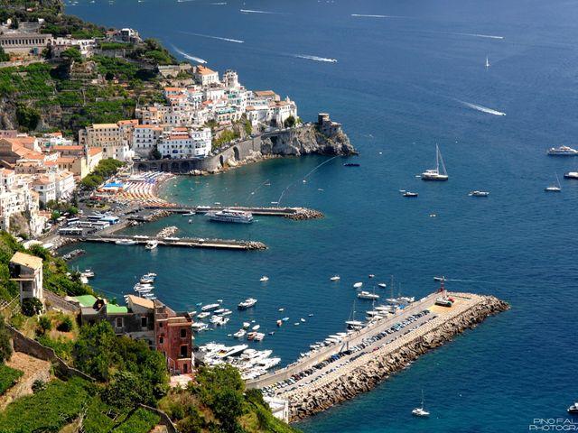 Il matrimonio di John e Elsa a Amalfi, Salerno 3