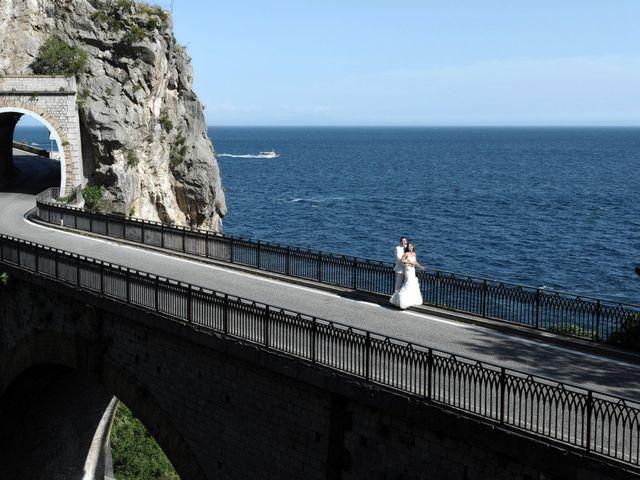 Il matrimonio di John e Elsa a Amalfi, Salerno 16
