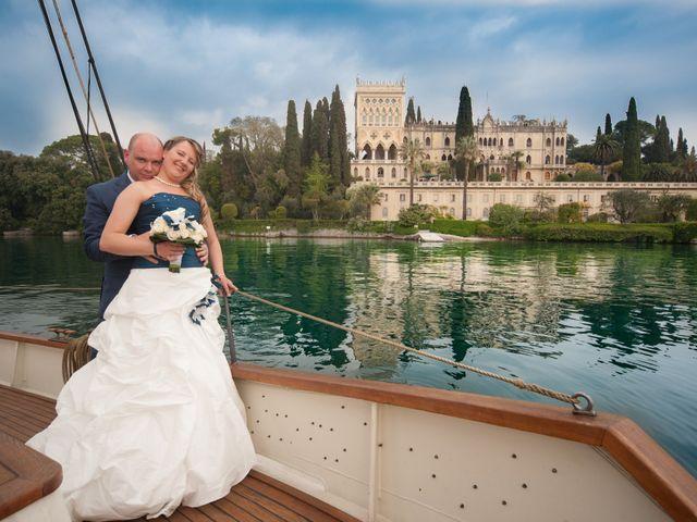 Il matrimonio di Ramon e Elisa a San Felice del Benaco, Brescia 1