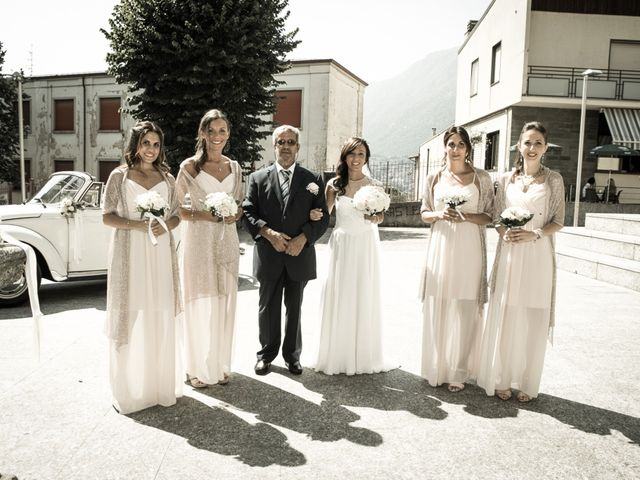 Il matrimonio di Andrea e Francesca a Malgrate, Lecco 10