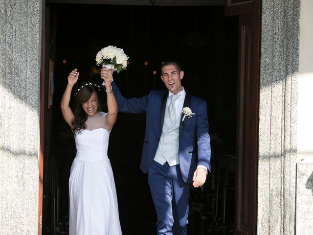 Il matrimonio di Andrea e Francesca a Malgrate, Lecco 16