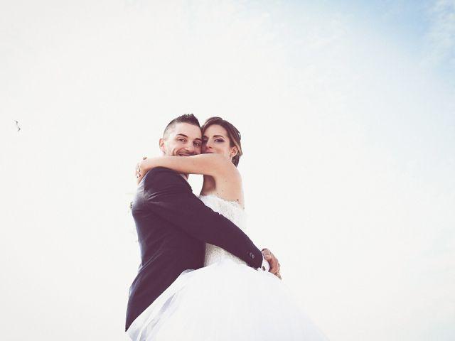 le nozze di Justine e Andrea