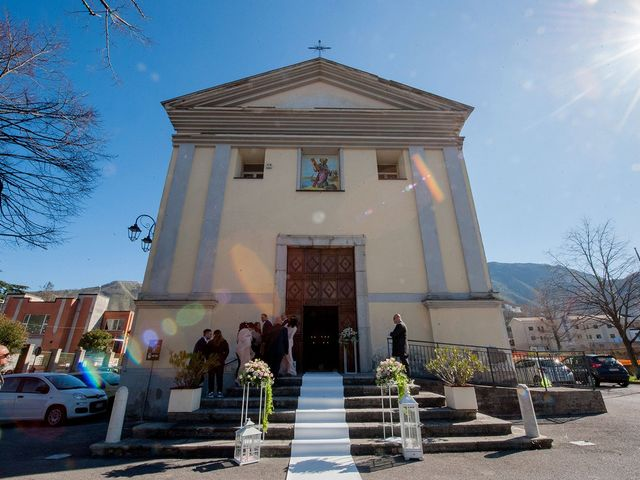 Il matrimonio di Christian e Anna a Baronissi, Salerno 20