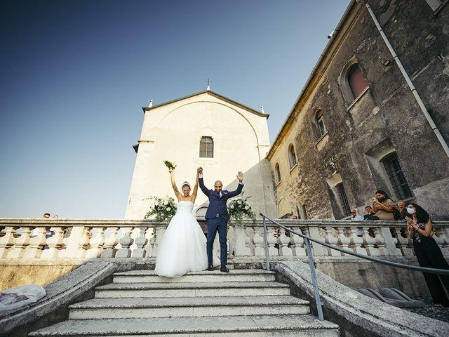 Il matrimonio di Stefano e Marica a Padenghe sul Garda, Brescia 51