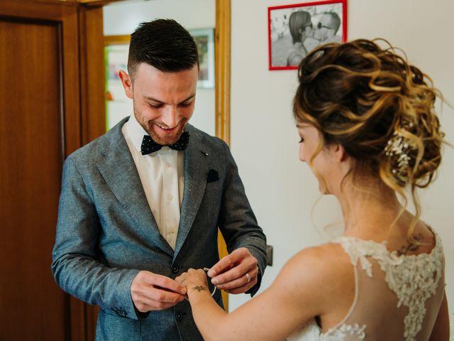 Il matrimonio di Enrico e Sara a Certaldo, Firenze 10