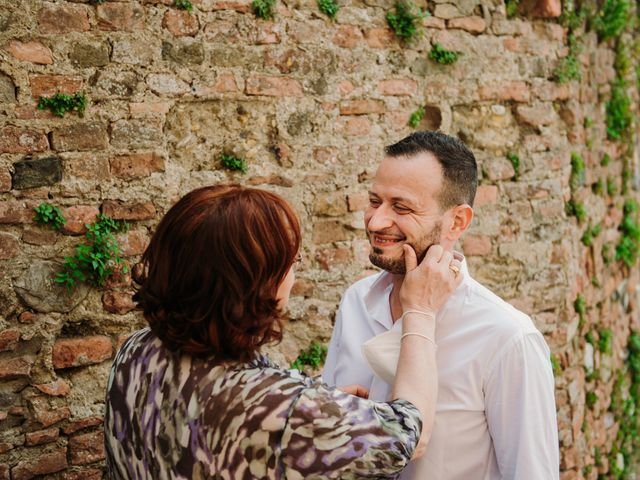 Il matrimonio di Enrico e Sara a Certaldo, Firenze 16