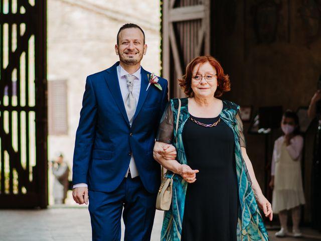 Il matrimonio di Enrico e Sara a Certaldo, Firenze 33