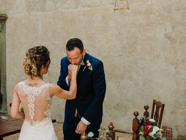 Il matrimonio di Enrico e Sara a Certaldo, Firenze 40