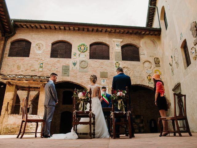 Il matrimonio di Enrico e Sara a Certaldo, Firenze 41