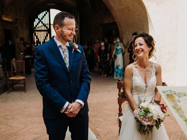 Il matrimonio di Enrico e Sara a Certaldo, Firenze 42