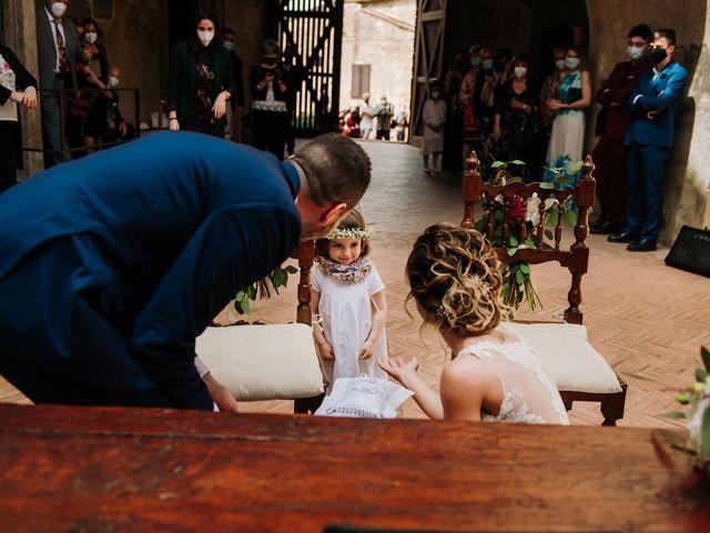Il matrimonio di Enrico e Sara a Certaldo, Firenze 43
