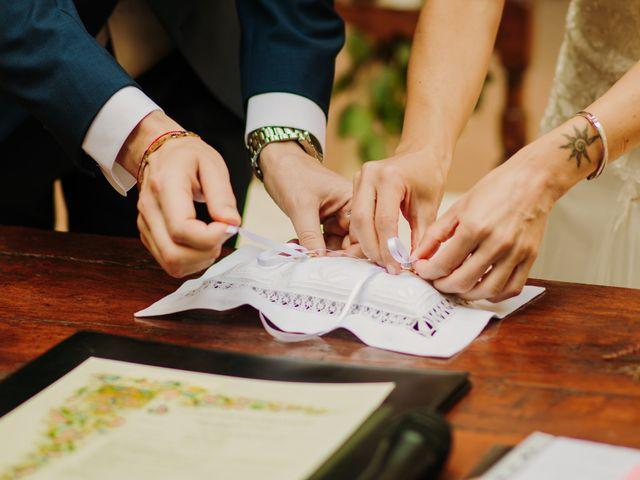 Il matrimonio di Enrico e Sara a Certaldo, Firenze 45