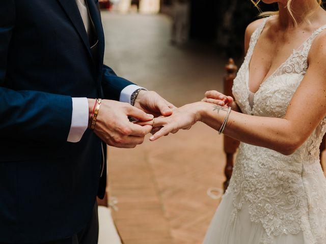 Il matrimonio di Enrico e Sara a Certaldo, Firenze 46