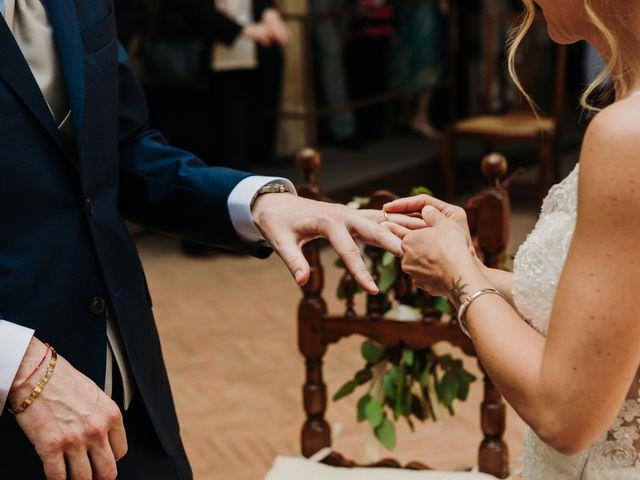 Il matrimonio di Enrico e Sara a Certaldo, Firenze 47