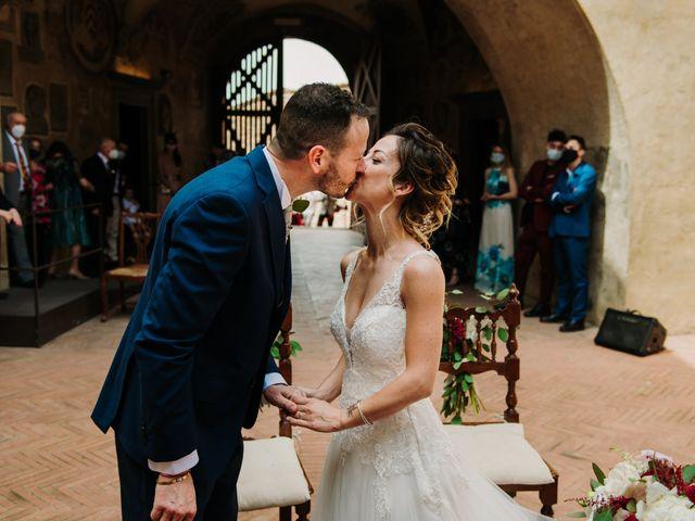 Il matrimonio di Enrico e Sara a Certaldo, Firenze 48