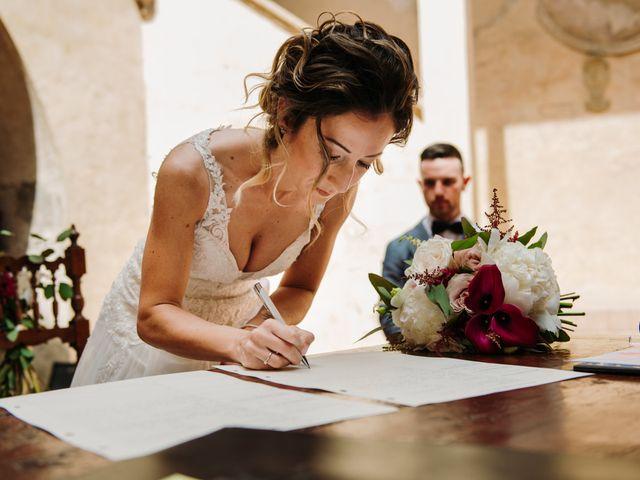 Il matrimonio di Enrico e Sara a Certaldo, Firenze 51