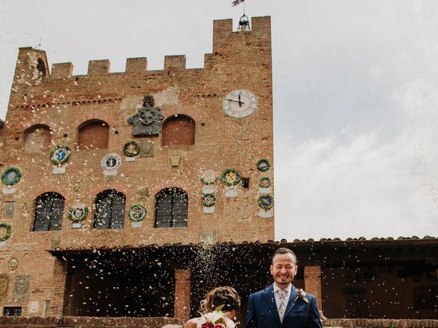 Il matrimonio di Enrico e Sara a Certaldo, Firenze 54