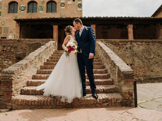 Il matrimonio di Enrico e Sara a Certaldo, Firenze 55