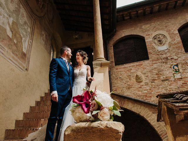 Il matrimonio di Enrico e Sara a Certaldo, Firenze 56